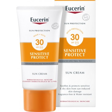 Eucerin Sun Protection Sensitive Protect Sun Cream For Face SPF30 50ml