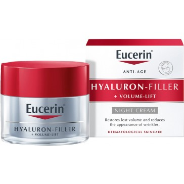 Eucerin Anti-Age Hyaluron-Filler + Volume-Lift Night Cream 50ml