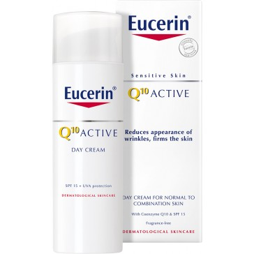 Eucerin Q10 Active Day Cream For Normal to Combination Skin 50ml