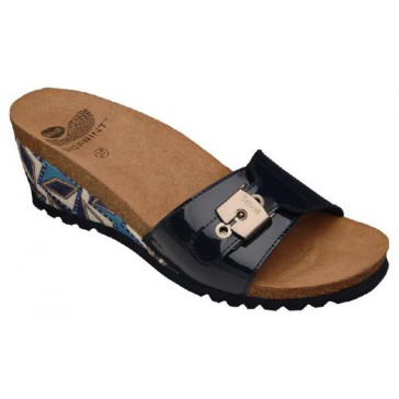 Scholl Bioprint New Tuam Inca Sandals - Navy