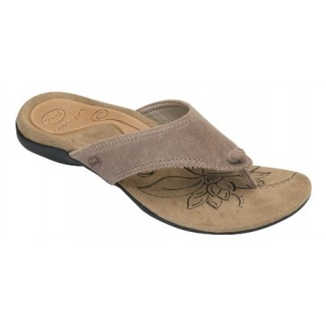 Scholl Freedom Orthaheel Biomechanics Sandals - Beige