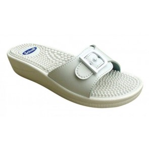 Scholl New Massage Fitness Sandals White