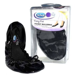 Scholl Party Feet -  Pocket Ballerina