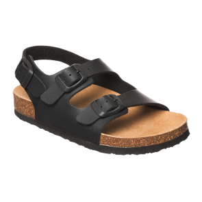 Scholl Bioprint Air Bag Backstrap Kids Sandals - Anthracite