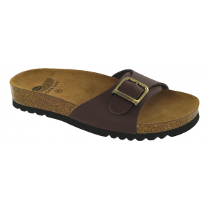 Scholl Bioprint Akumal Sandals - Dark Brown