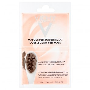 Vichy Purete Thermale Double Glow Peel Mask Duo Sachet (2 x 6ml)