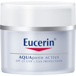 Eucerin  Sensitive Skin AQUAporin Active for All Skin Types SPF25 + UVA Protection 50ml