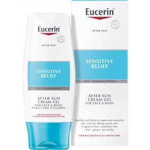 Eucerin Sensitive Relief After Sun Cream Gel For Face and Body 150ml