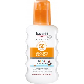 Eucerin Sun Protection Sensitive Protect Kids Sun Spray SPF50+ 200ml