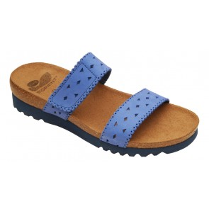 Scholl Lisala Bioprint Sandals - Navy Blue