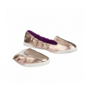 Scholl Party Feet  - Pocket Ballerina Bronze