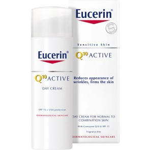 Eucerin Sensitive Skin Q10 Active Day Cream For Normal to Combination Skin 50ml