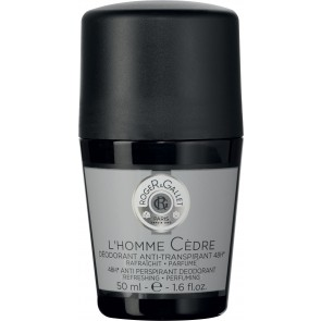 Roger & Gallet L'Homme Cedre 48hr Anti Perspirant Deodorant Roll On 50ml