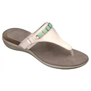 326d04ad3b1fcf Scholl Gelactiv Hollis Sandals - White Green