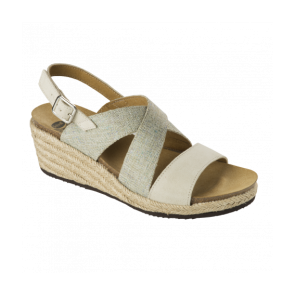 Scholl Bioprint Sotiria Sandal - Natural/Ice