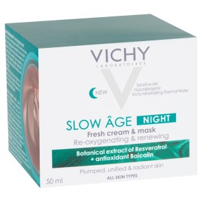 Vichy Slow Âge Night Fresh Cream and Mask 50ml