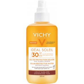 Vichy Idéal Soleil Solar Protective Water - Enhanced Tan SPF30 200ml