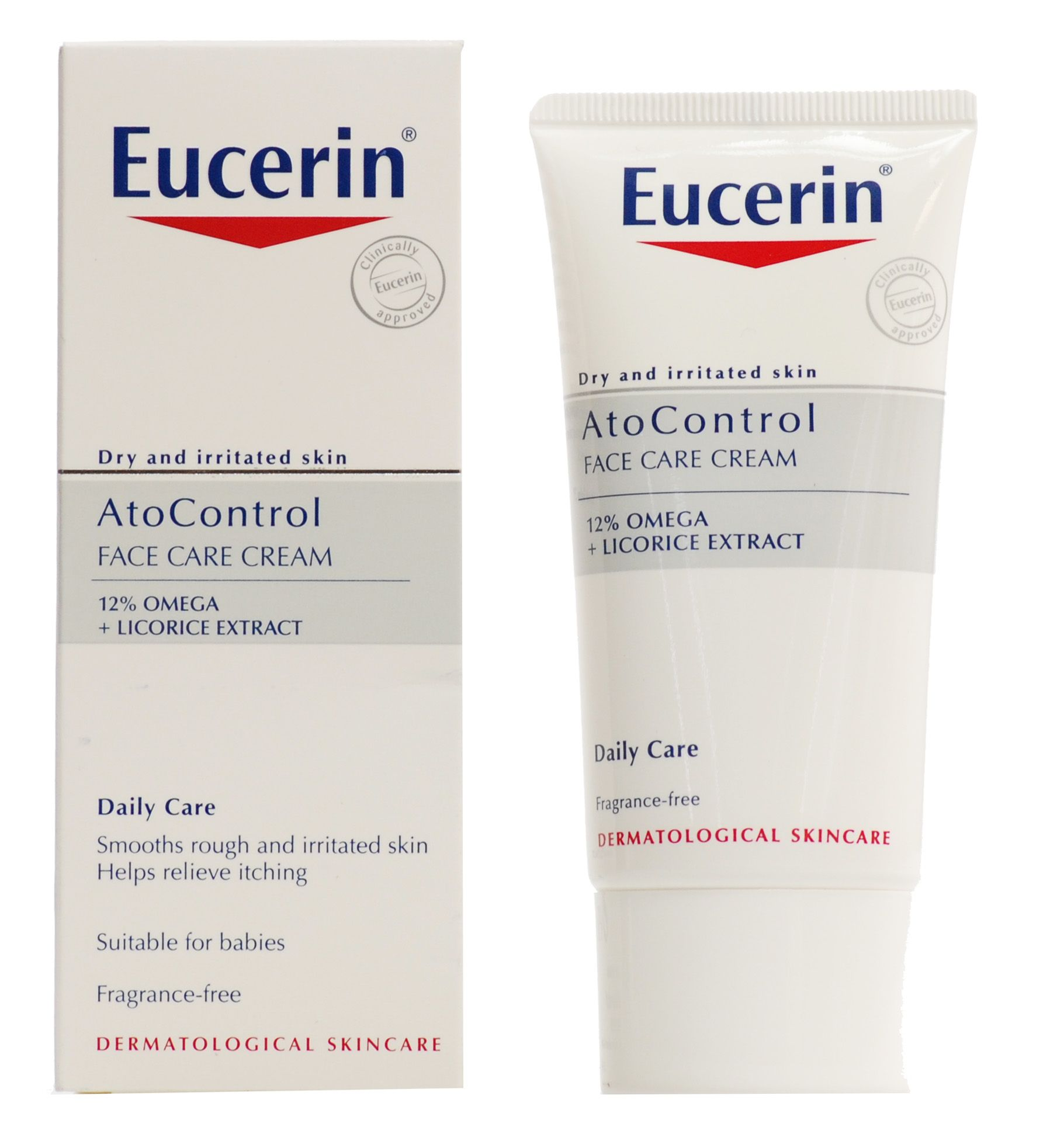 Eucerin Atocontrol Face Care Cream 50ml Tlc