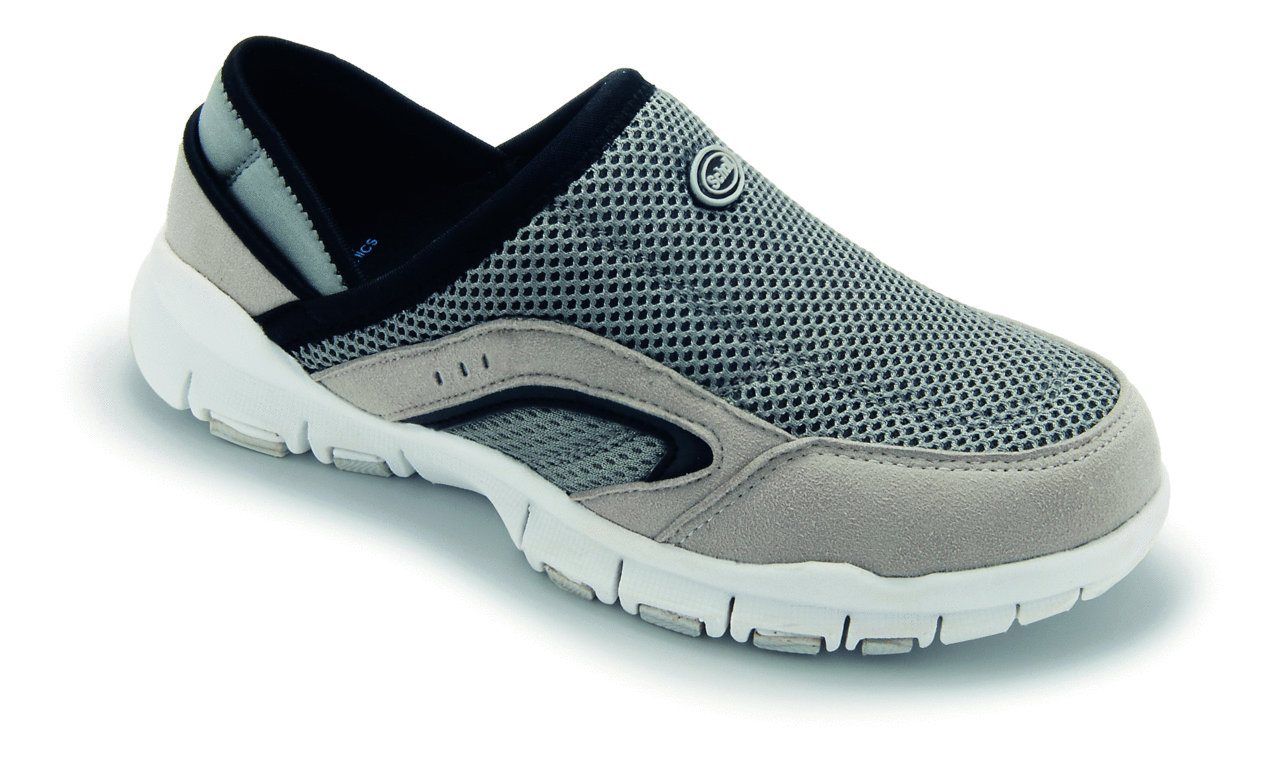 Scholl Biomechanics Leisure Sandals Grey Tlc